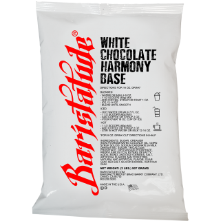 white chocolate harmony base, cappuccine, base mix, white chocolate symphony